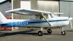 G-BAEU Cessna 150 training plane